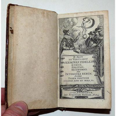 Bacon Francis - Sermones Fideles , Ethici, Politici, Oeconomici- 1644