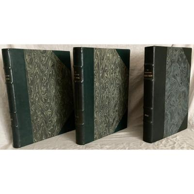 """""""The Illustrated London News"""" en 3 Volumes in-folio reliant 81 numéros de 1943 à 1945 ww2"""