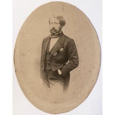 Nadar vers 1857 Rare Et Authentique Photo De Ferrouck Khan Ambassadeur De Perse en France