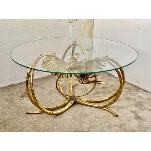 Richard Et Isabelle Faure 1970 Grande  Table Sculpture Pièce Unique Pour Maison Honoré Paris