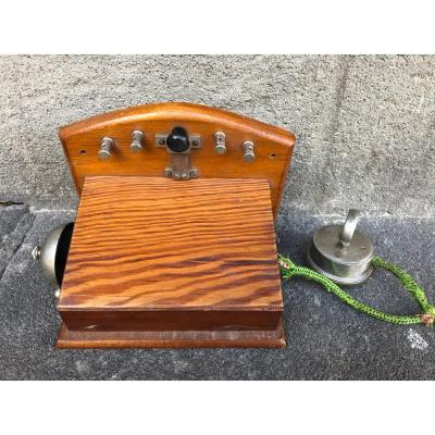 Vibrating Plate Wall Telephone
