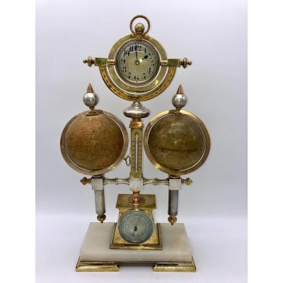 Rare Pendule d'André Guillemet/french Industrial Clock