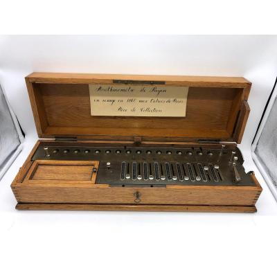 Rare L.payen 9 Scripters Arithmometer