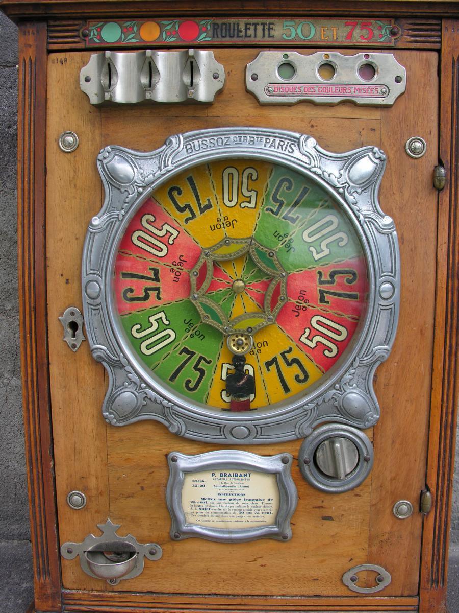 Machine à Sous Roulette Bussoz Modèle Johnson