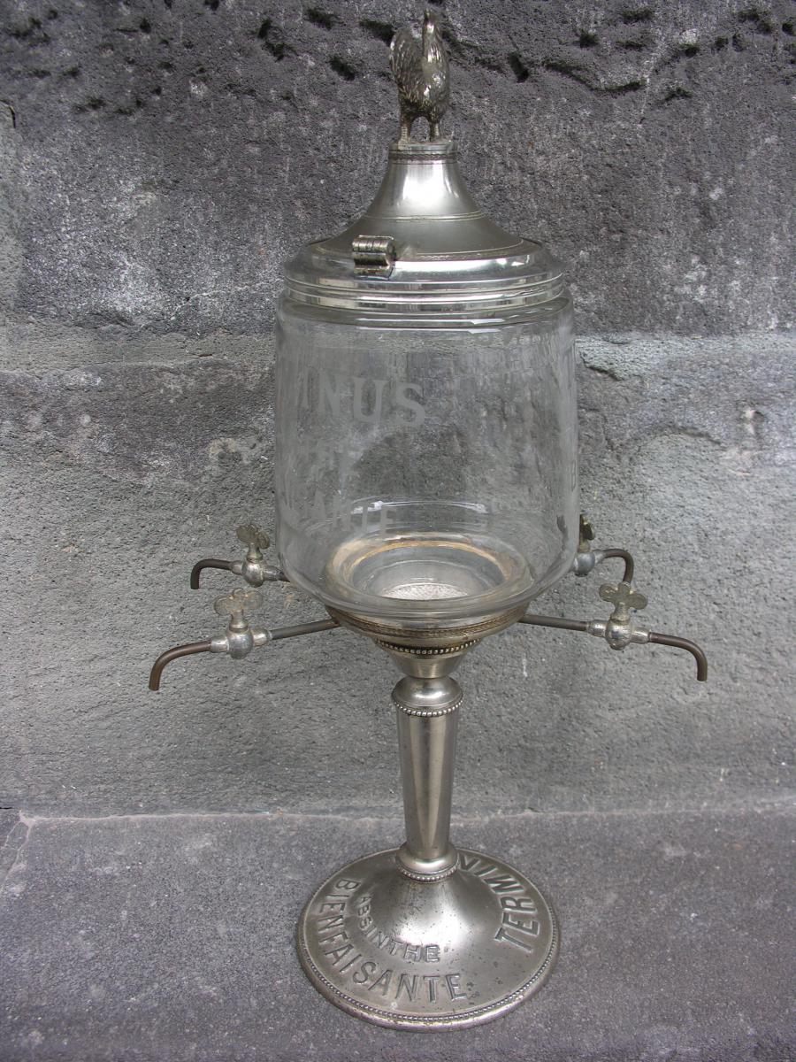 Fontaine à Absinthe Terminus Modèle Au Coq