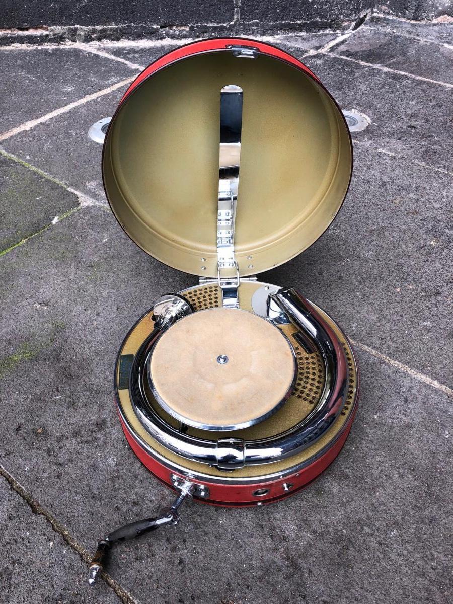 Phonographe Valise Odéon système Vadasz
