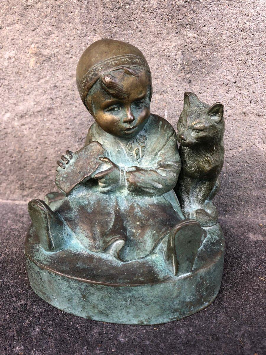 Bronze Art-déco