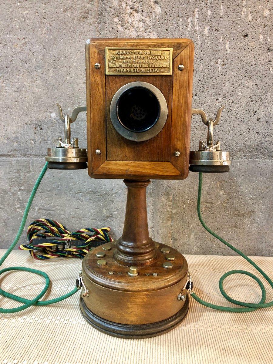 Téléphone Ancien Louis Pasquet