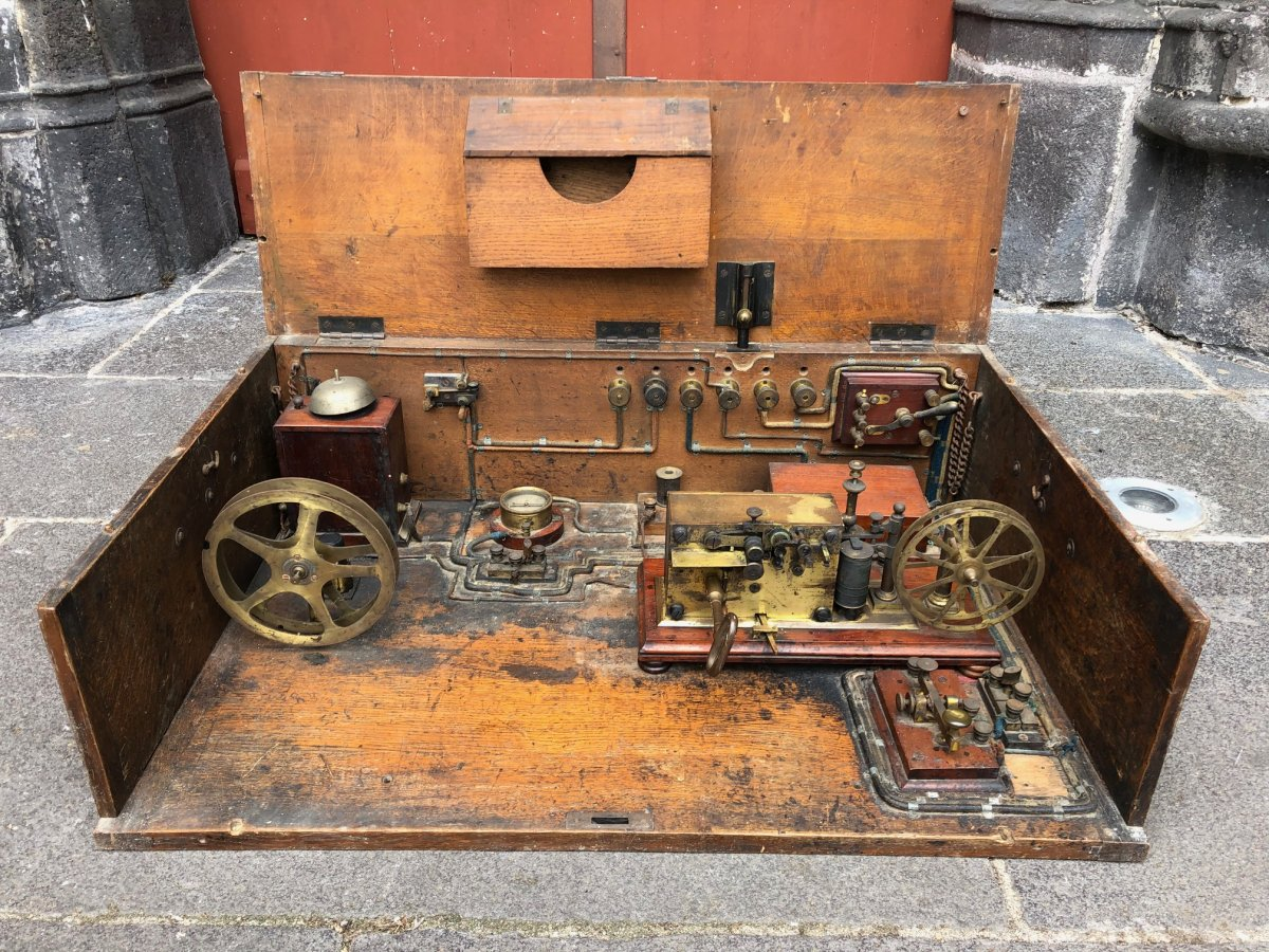 Télégraphe Morse Sit à Ruban Papier