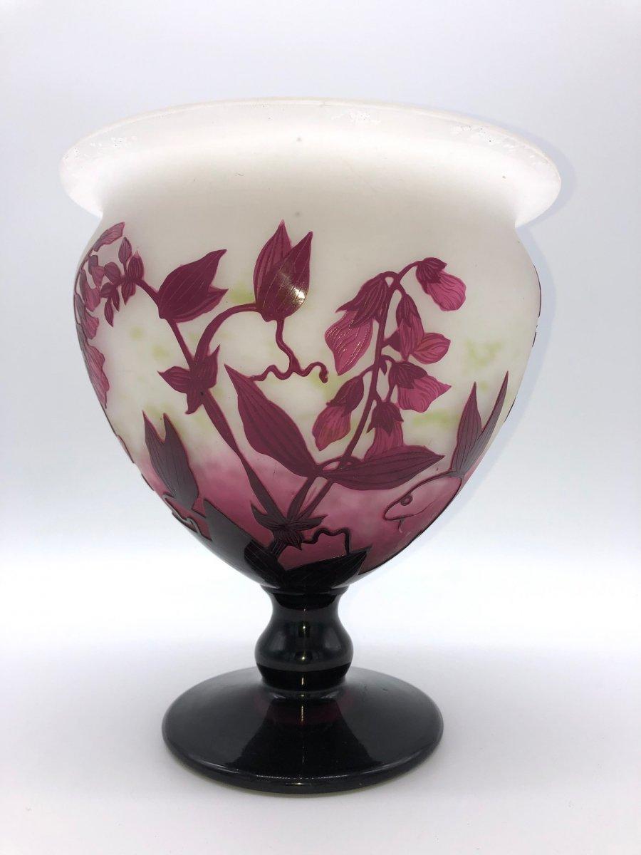 Très Beau Vase André Delatte Nancy
