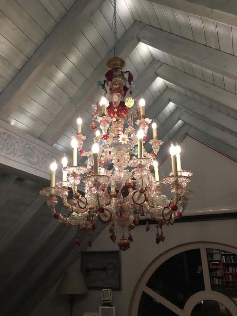 Magnifique Lustre De Venise 16 Lumières