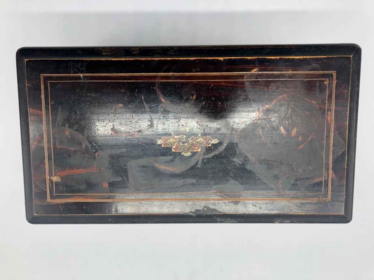 Boîte à Musique 4 Airs Napoléon III -photo-3