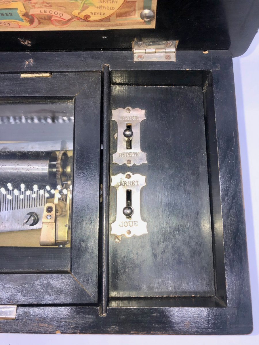 Boîte à Musique 4 Airs Napoléon III -photo-4