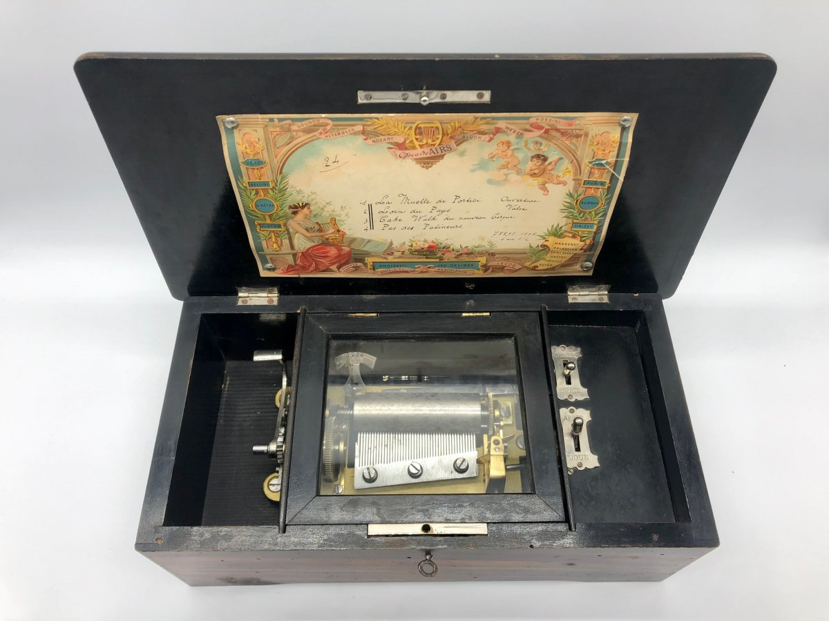 Boîte à Musique 4 Airs Napoléon III