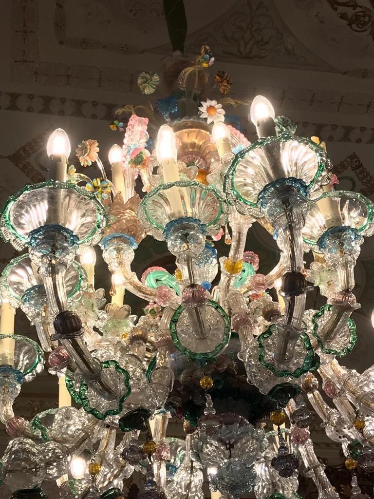 Paire De Lustre De Venise 27 Lumières-photo-2