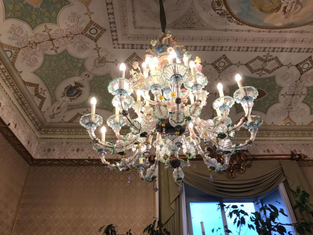 Paire De Lustre De Venise 27 Lumières-photo-4