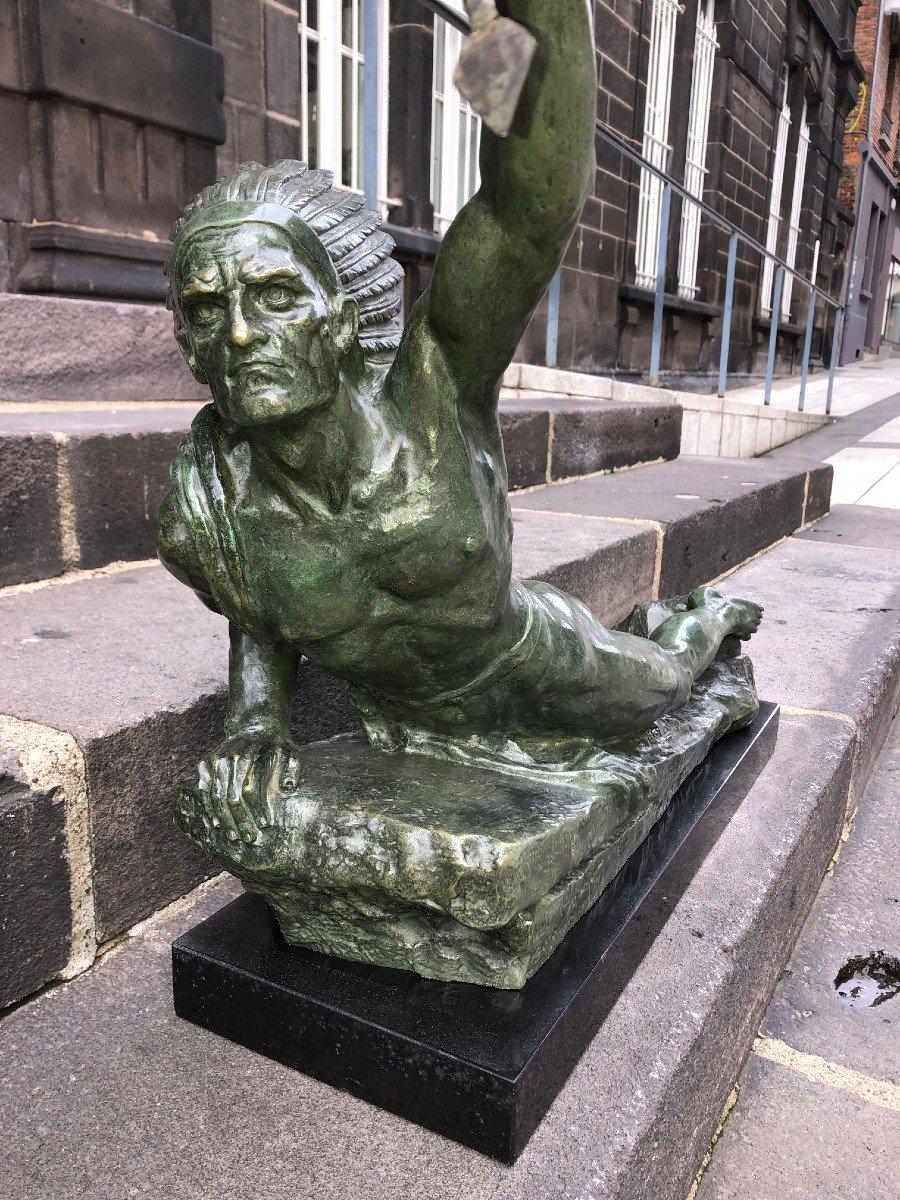 Important Bronze De Marcel André Bouraine-photo-2