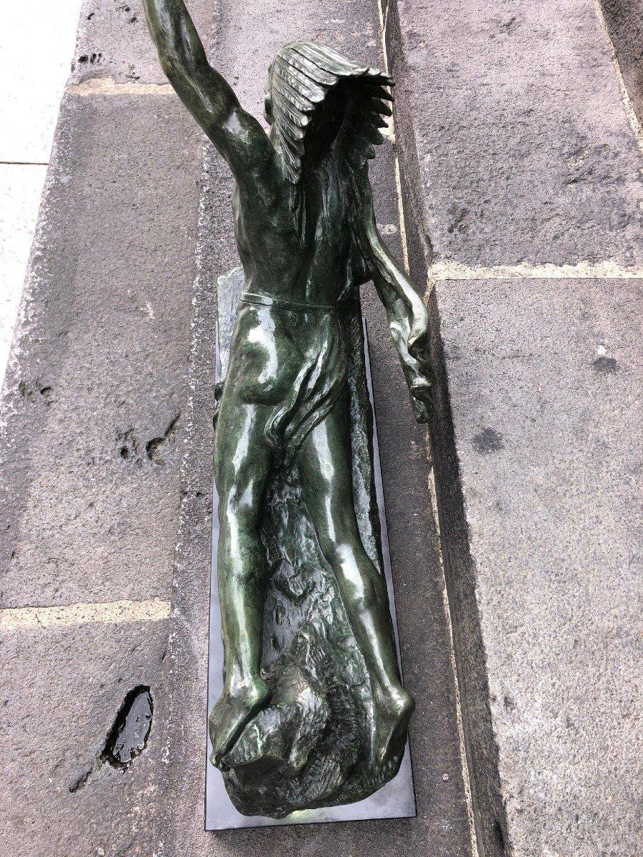 Important Bronze De Marcel André Bouraine-photo-4