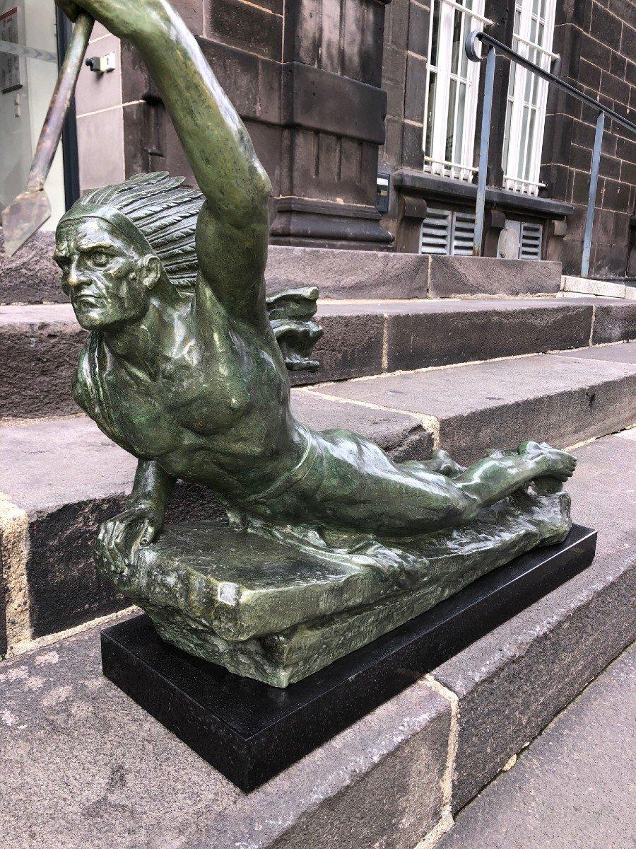 Important Bronze De Marcel André Bouraine-photo-3
