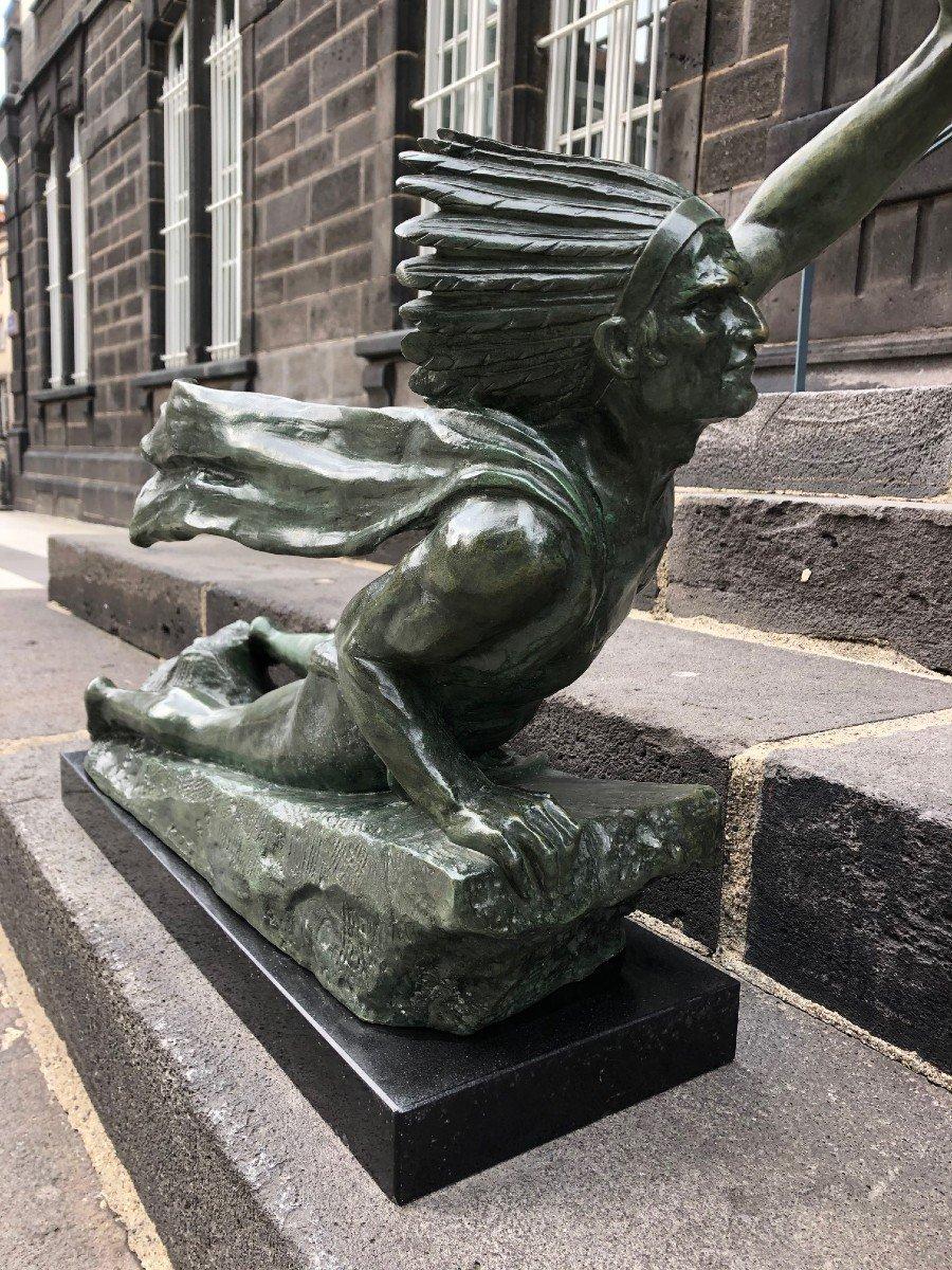 Important Bronze De Marcel André Bouraine-photo-7