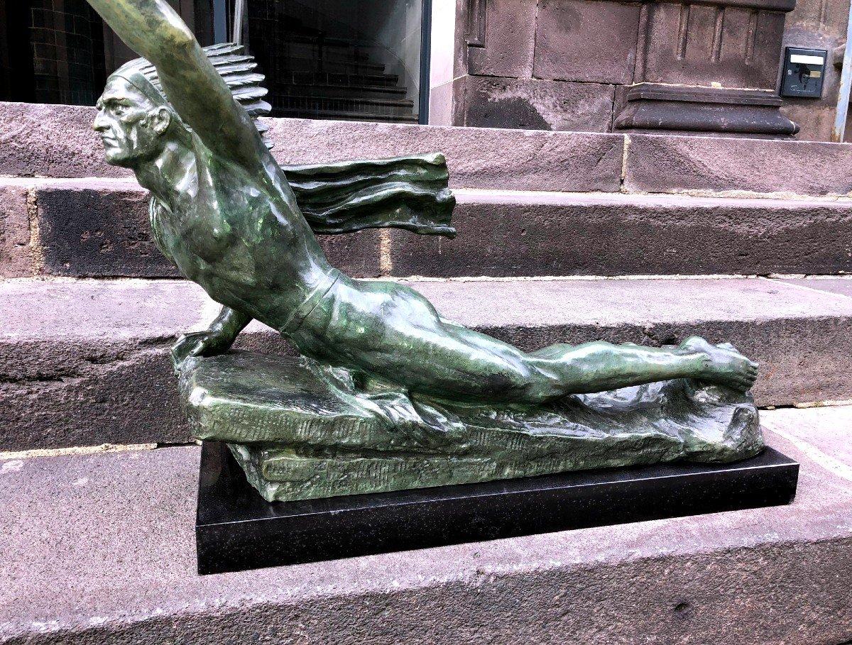 Important Bronze De Marcel André Bouraine