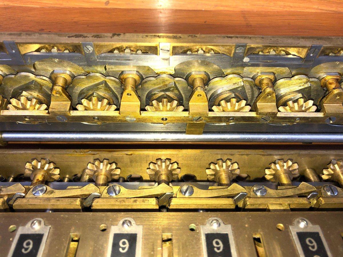 Rare Arithmomètre L.payen 9 Scripteurs-photo-1
