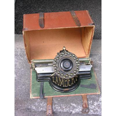 Machine à écrire Lambert 1884