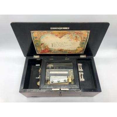 Napoleon III 4 Airs Music Box