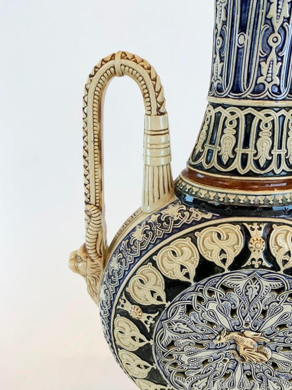 Porcelain Vase 19 S Orientalist Style-photo-4