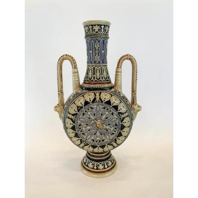 Porcelain Vase 19 S Orientalist Style