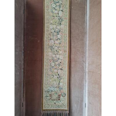 Entrance Window Tapestry, Napoleon III Style, Late Nineteenth Period