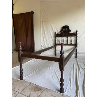 Portuguese Rosewood Bed XIX