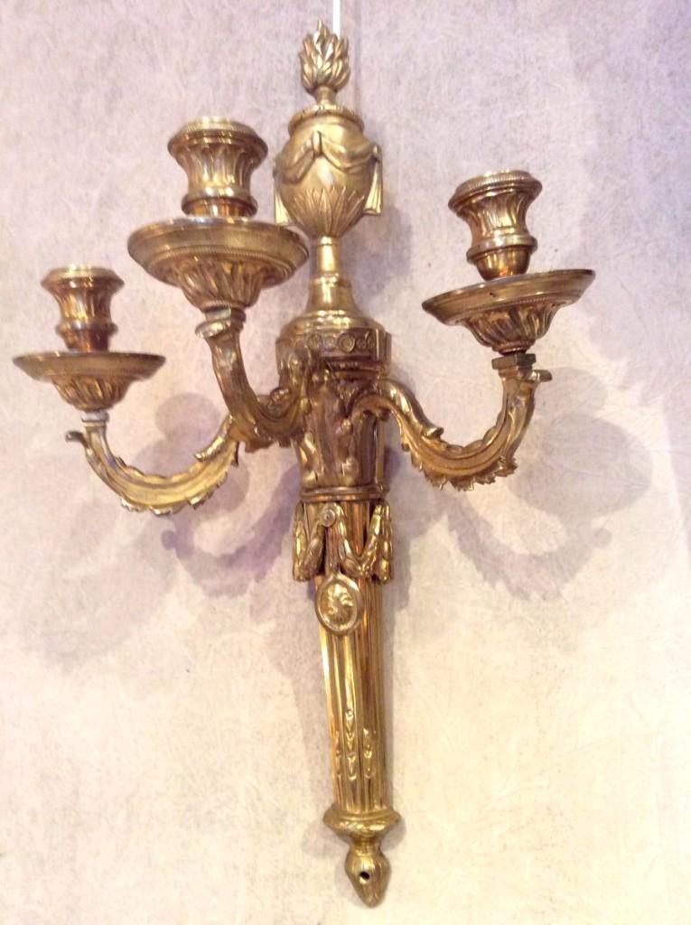 Pair Of Louis XVI Period Sconces