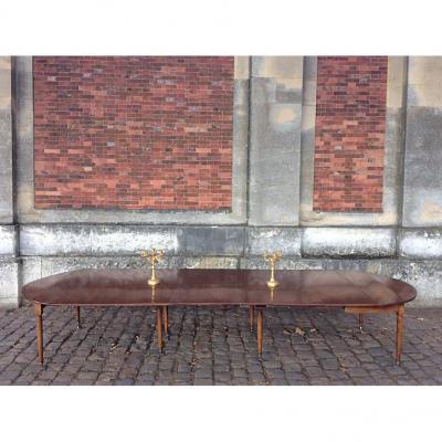 Table salle manger sur proantic louis xvi directoire for Salle a manger louis xvi