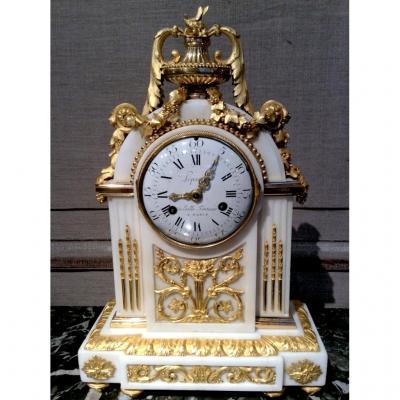 "Pendule ""borne"" de Lepaute époque Louis XVI"