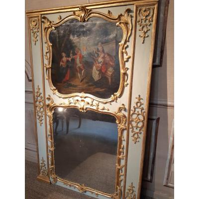 Trumeau Gilt Wood Louis XV