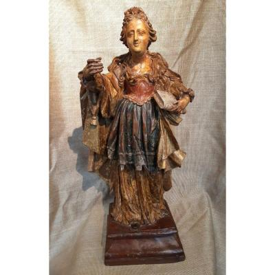 "17th Century ""holy"" Statue"