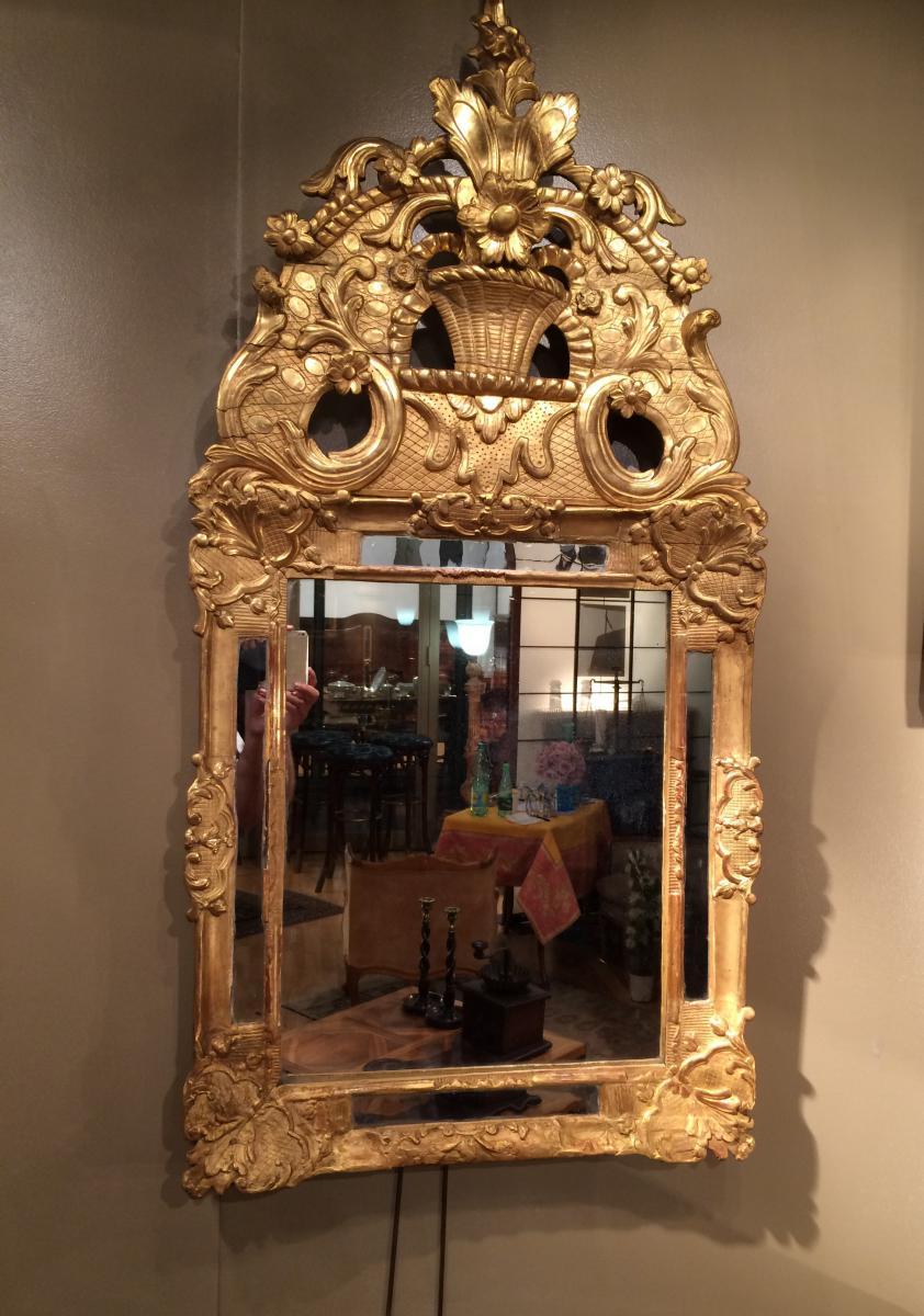 miroir en bois sculpt 233 et dor 233 xviii 232 me si 232 cle miroirs