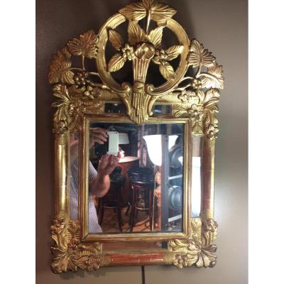 Petit miroir d'époque Régence