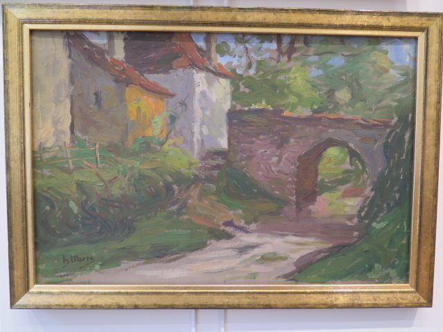 Landscape At Pont