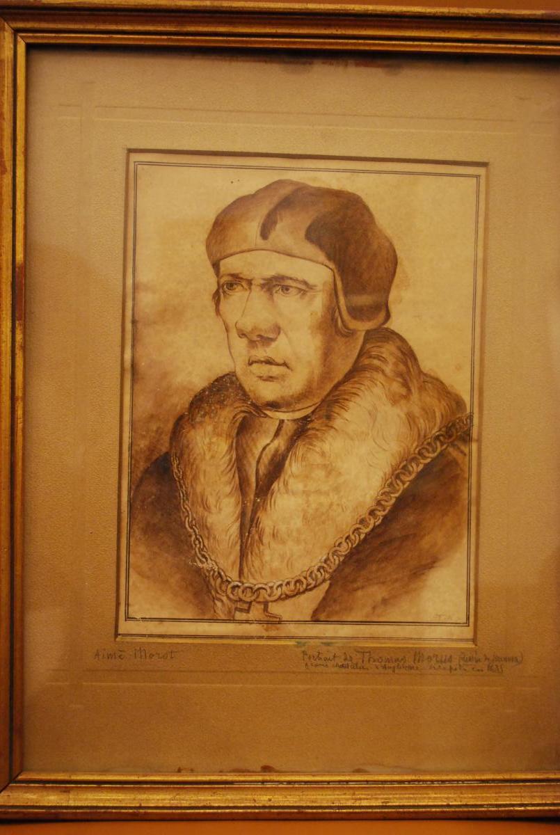 Portrait de Thomas More 1478-1535