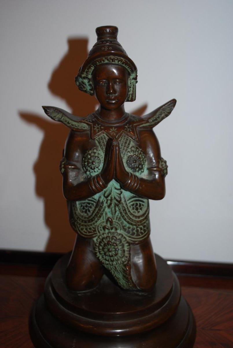 Danseuse Bronze Indochine