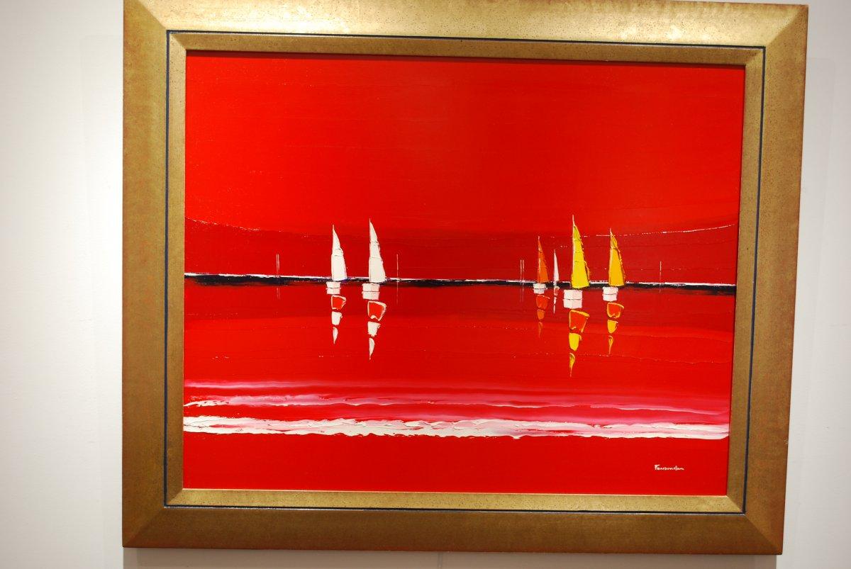 Mer en feu par Guy Fontdeville-photo-2