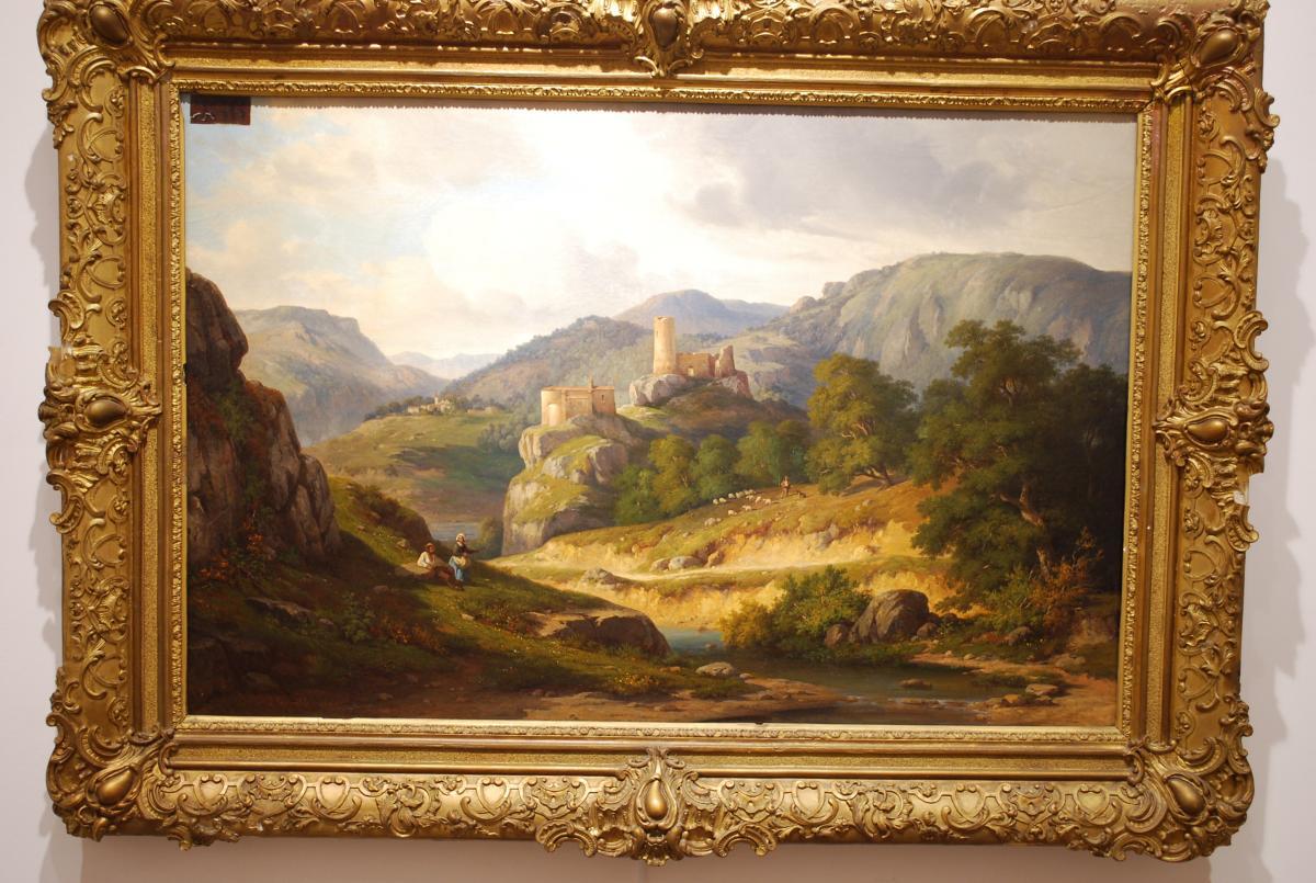 Paysage Au Château