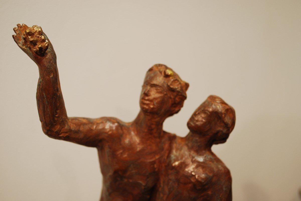 Statue Bronze Cire Perdue Madeleine Tézenas du Montcel-photo-2