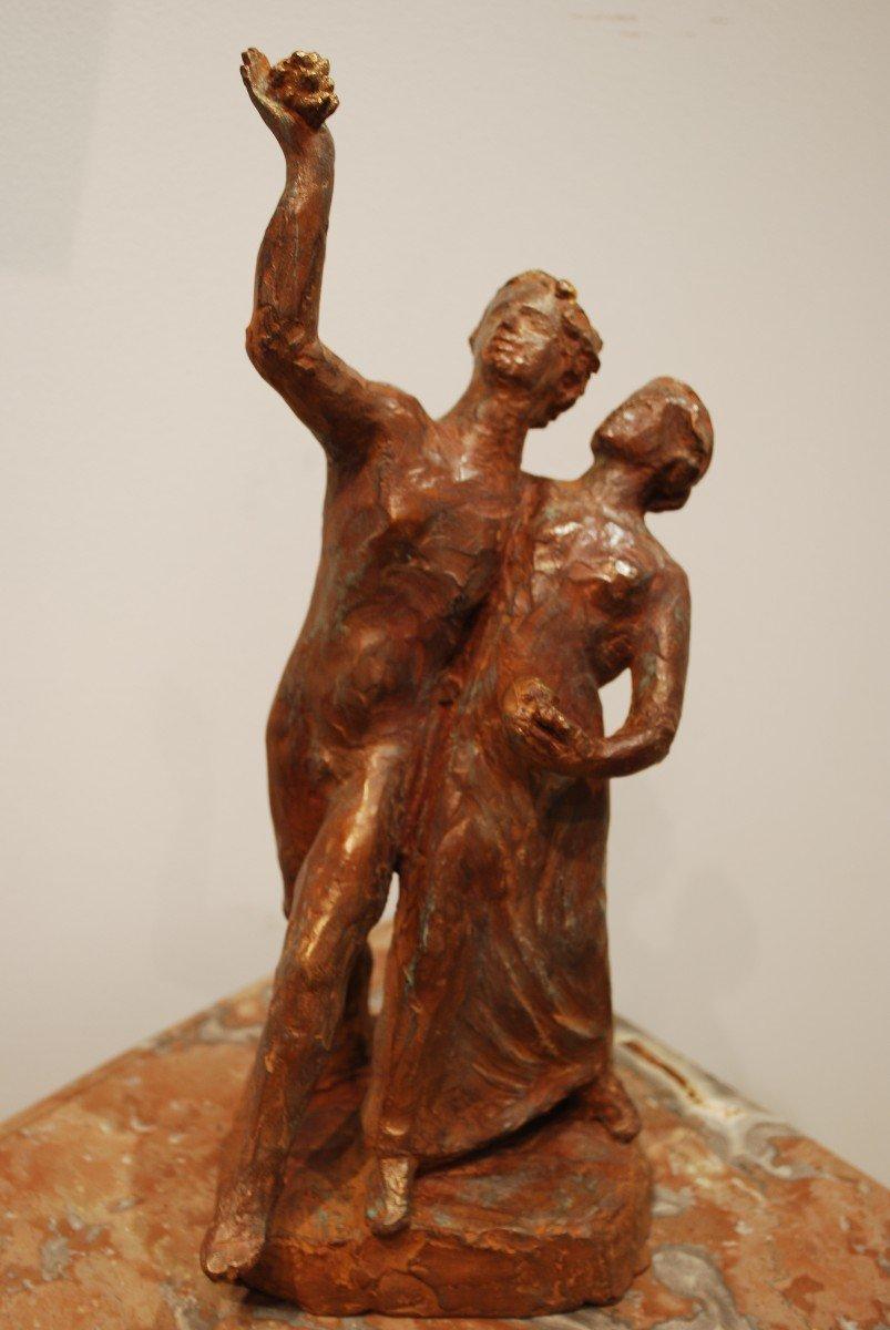 Statue Bronze Cire Perdue Madeleine Tézenas du Montcel-photo-3