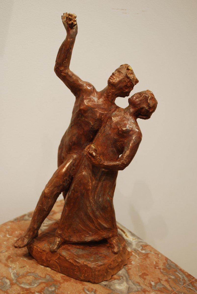 Statue Bronze Cire Perdue Madeleine Tézenas du Montcel-photo-4