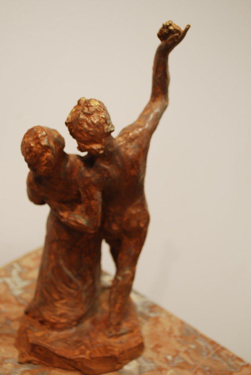 Statue Bronze Cire Perdue Madeleine Tézenas du Montcel-photo-1