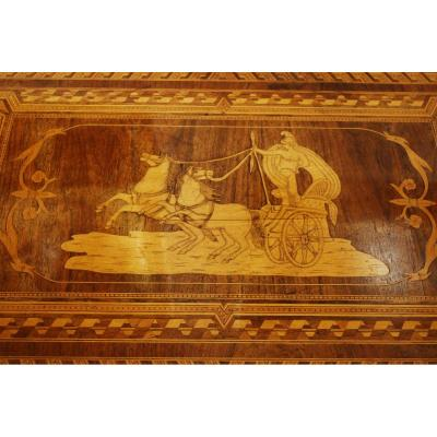 Italy Sorrento Marquetry Salon Table