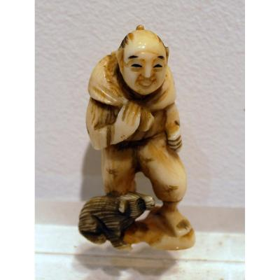Netsuke Art Asiatique Japon